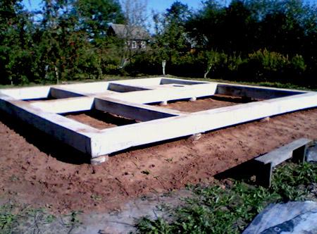 Конструкция дома - фундамент.  Часть 1.