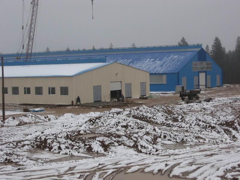строительство быстровозводимых складов от ВРК1