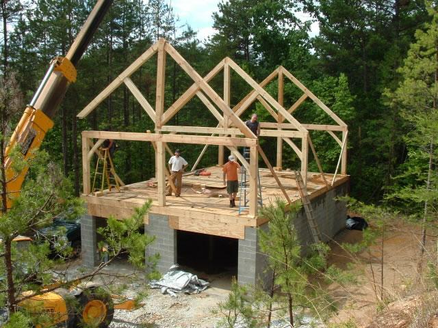 Как построить каркасный одноэтажный дом своими руками